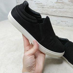 Steve Madden/ Whilma Black Slip On Sneaker